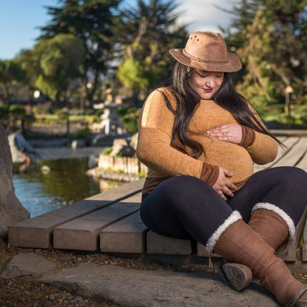 fotografia embarazada
